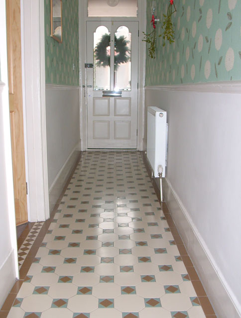 Palace Victorian Installer Of Geometric Tiled Hallways