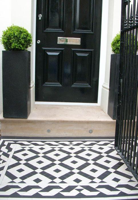Palace Victorian Mosaic Hallway And Pathway Installation